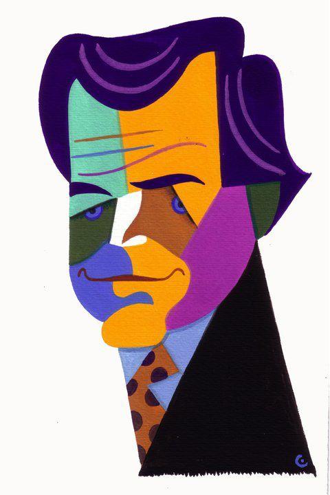 DAVID COWLES  David Cowles è un illustratore di Rochester, NYC, con una lista di clienti illustri e premi vinti. Ha un animo gentile che lo porta a fare gli auguri alle star dedicando loro una caricatura nel giorno del compleanno… Happy B. Sarah Palin!
