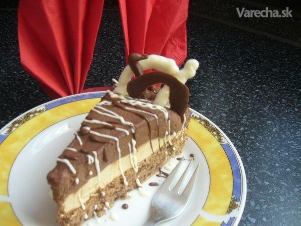 Torta s kávovým krémom a parížskou šľahačkou