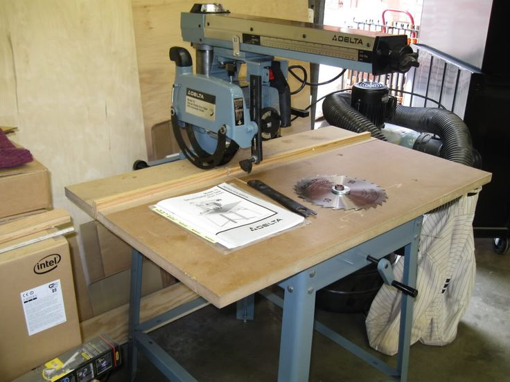 198 Best Images About Radial Arm Saws On Pinterest Models Power Tools And Table Saw Station
