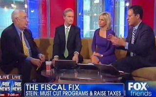 Ben Stein Stuns Fox & Friends: 'All Due Respect To Fox' But 'Taxes Are Too Low'