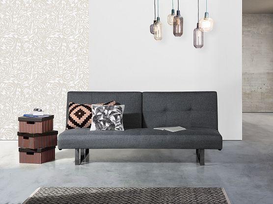 Dark grey Sleeper Sofa DUBLIN