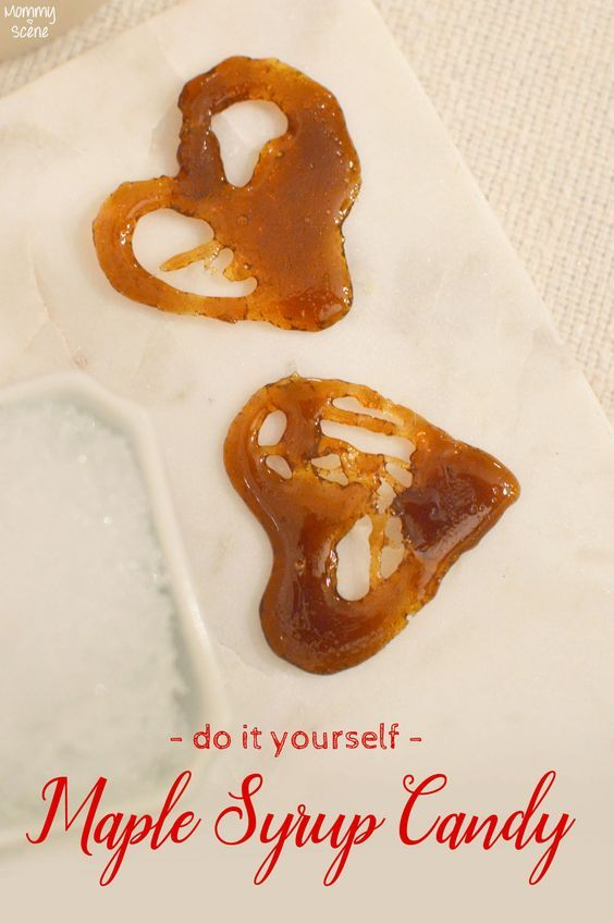 Easy DIY Maple Syrup Candy - Mommy Scene