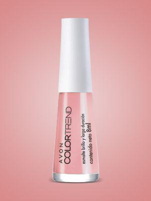 Color Trend Esmalte Brillo y Larga Duración Rosa Natural