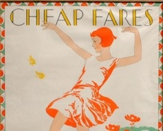 1920s 'Cheap Fares' London Underground Poster