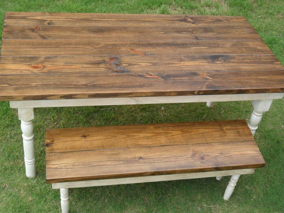 5 1/2 Ft Reclaimed Farm-Style Dining Table by FlippingFuquay