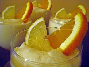 Zitronenspeise