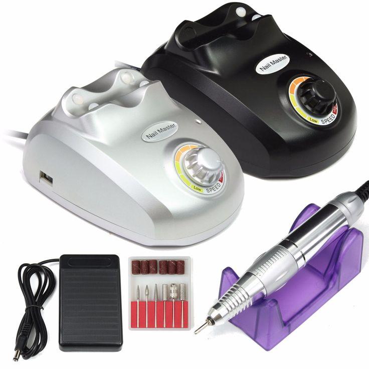 Pro 30000RPM Pro Electric Nail Art Drill Machine Nail Equipment Manicure Pedicure Files Electric Manicure Drill & Accessory #Affiliate
