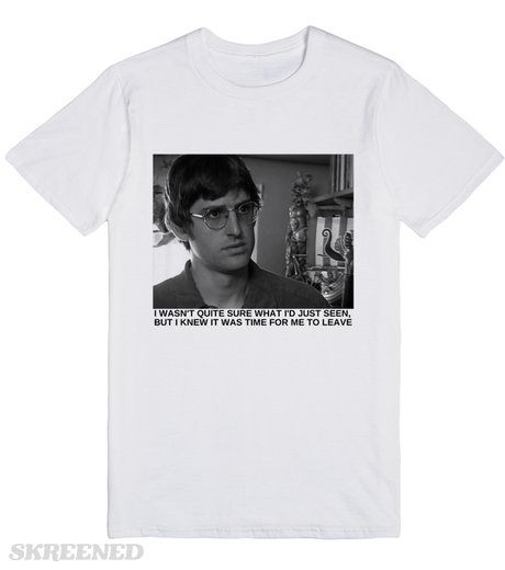 Louis Theroux Printed on Skreened T-Shirt