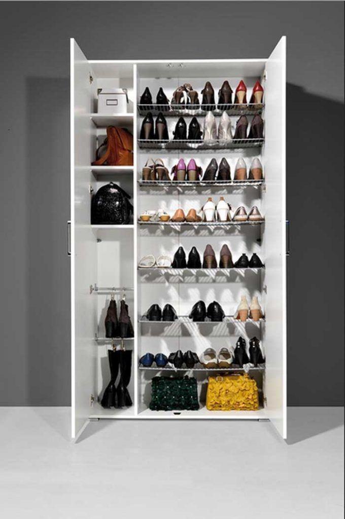 Genial Schuhschrank Hoch Schuhschrank Selber Bauen Schuhaufbewahrung Schuhschrank