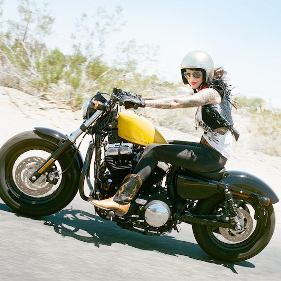 from Silodrome Gasoline Culture Site: The Women's Mototrcycle Exhibition by Lanakila MacNaughton