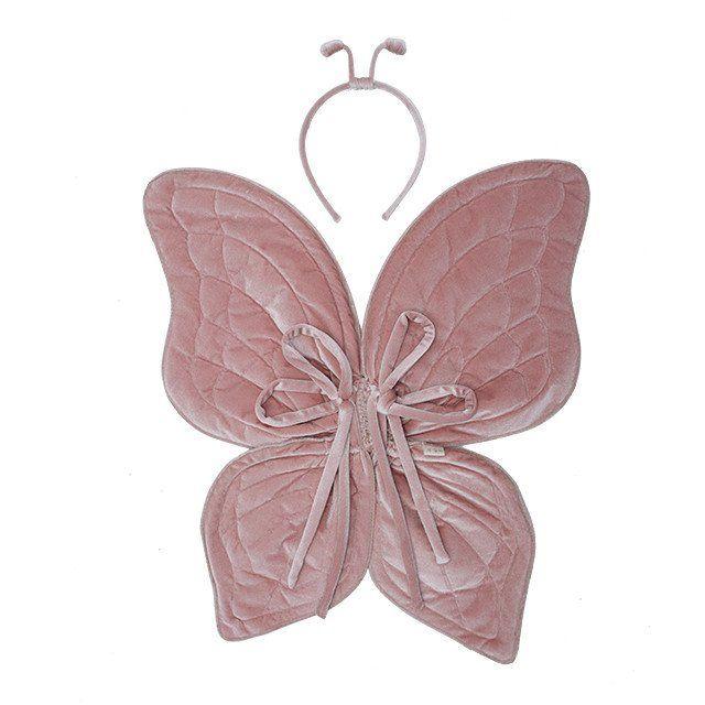 Numero 74 Velvet Butterfly Wings, Dusty Pink