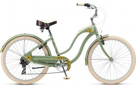 This is on my short-list.  Love these colors.: In Style, Gears Bike, Cruiser Bikes, Color, Baby, My Birthday, Bike Not, Schwinn Bike, Flower