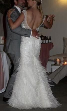 Demetrios Couture style C220: buy this dress for a fraction of the salon price on PreOwnedWeddingDresses.com