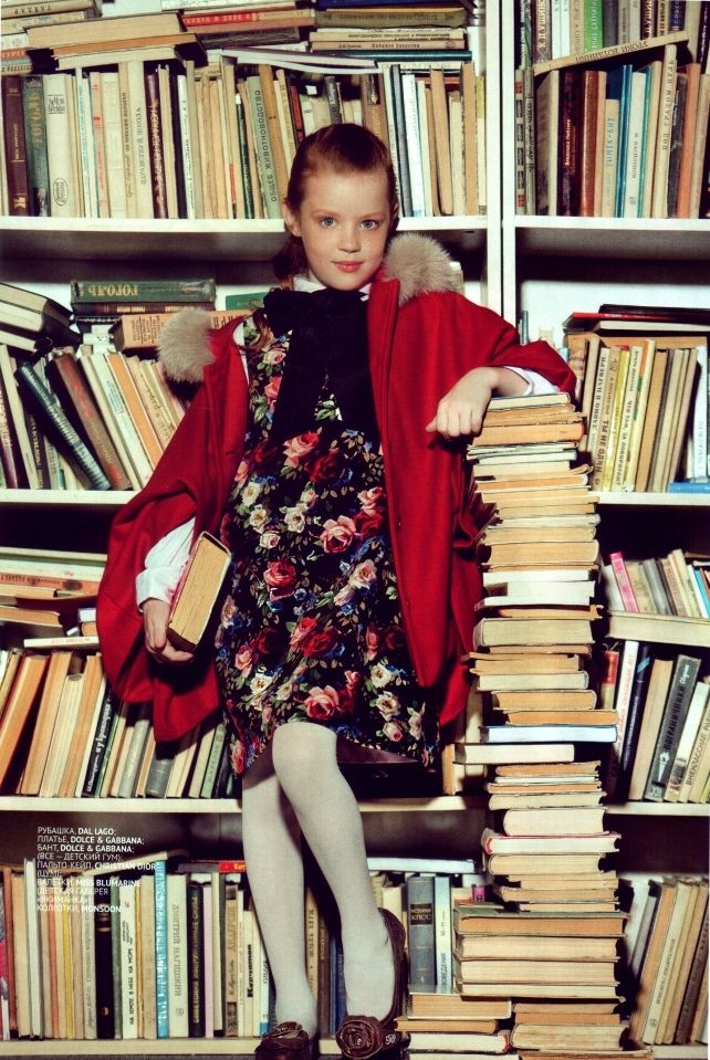 Yasya for TOPBEAUTY Kids September 2013  #editorial #magazine #kidsmodel