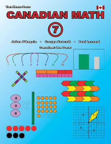 Canadian Math 7 Reproducible (Download Only) - clear, readable, downloadable, and reproducible lessons that teach every Canadian grade 7 math strand.