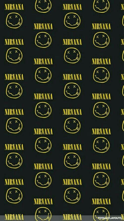 Nirvana Wallpapers For IPhone