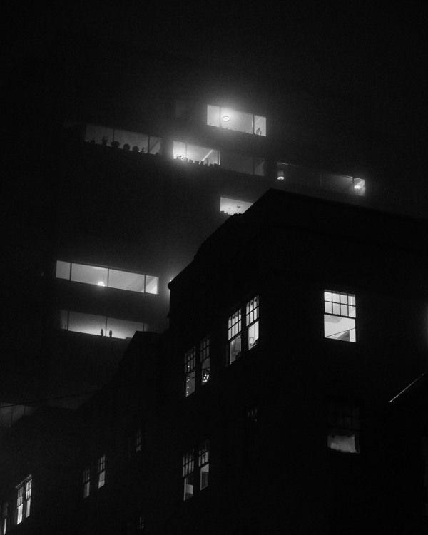 Portland Fog Project by Anthony Shade, via Behance