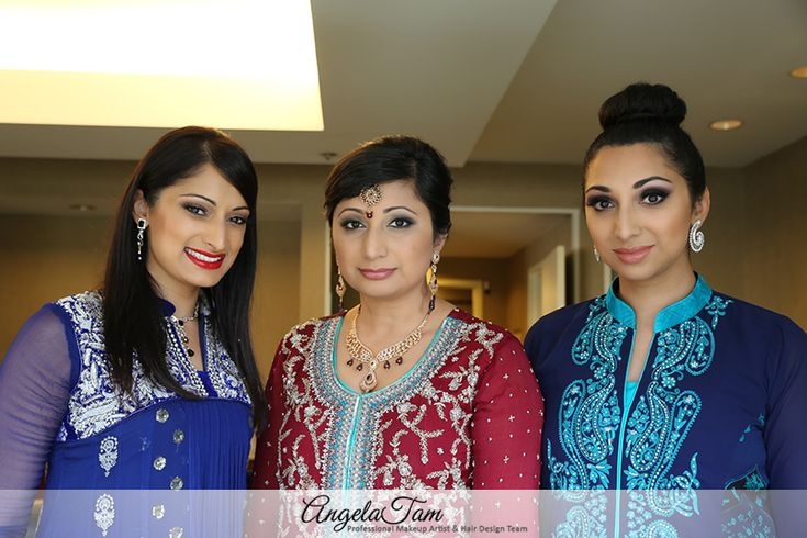 ORANGE COUNTY INDIAN WEDDING – SOUTH ASIAN BRIDE MAKEUP ARTIST and HAIR DESIGN TEAM >> ANGELA TAM | GUL MAKEUP SESSION