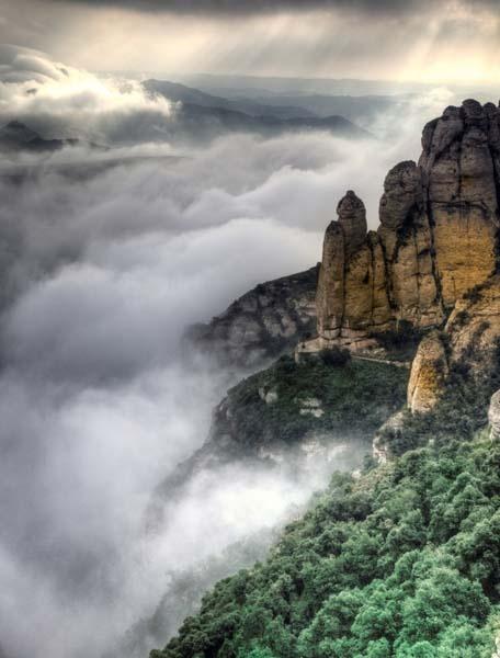 Manchester University Study Abroad - Monasterio de Montserrat, Spain 2012