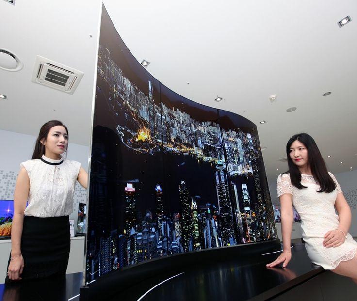 LG показала уникальные двусторонние телевизоры (ФОТО, ВИДЕО) » Planeta.net.ua - Новости сегодня