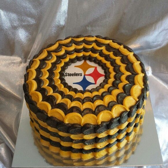 28 best Steelers Football Cakes images on Pinterest Cupcake