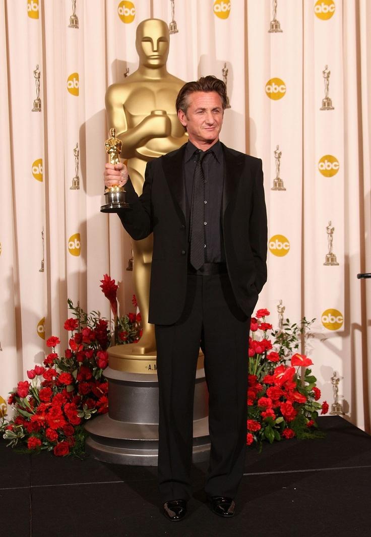 """Sean Penn - Best Actor Oscar for """"Milk"""" 2008"""