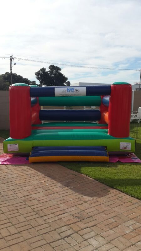 Hay For kids hires out jumping castles - this is a pic of it. www.hayforkids.co.za