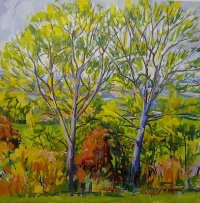 Two Trees 120 X 120