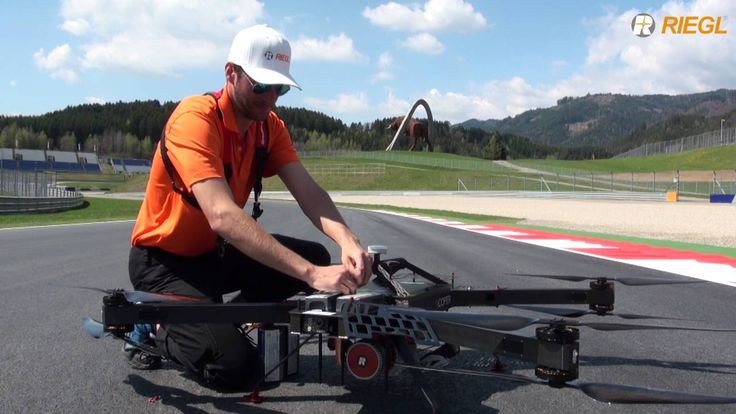 Click the picture to see the video on the RIEGL RiCOPTER scanning the Red Bull Ring racetrack in Spielberg, Austria. Message us for video use.