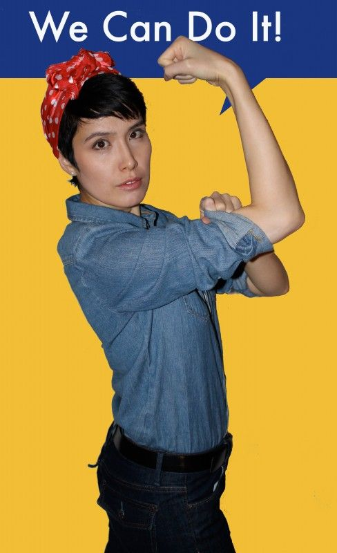 78 Best Halloween Rosie S Images On Pinterest Halloween Costumes Rosie The Riveter And