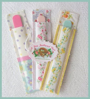 Emery board covers - I hate the way they scratch up things in my purse, this is a great idea,cute too!