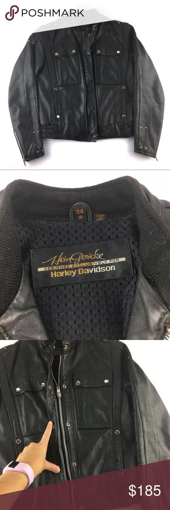Harley Davidson Hein Gericke Motorcycle Jacket Brand