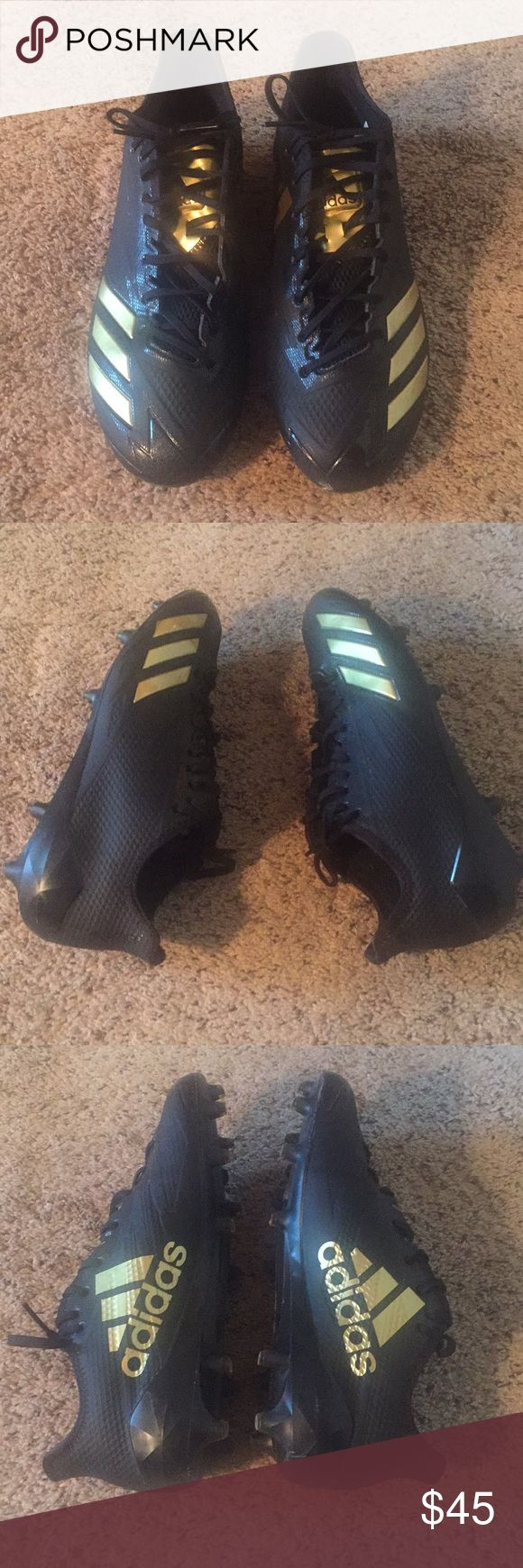 Adidas football cleats Used, very good condition only wore 1 season. adidas Shoes Athletic Shoes