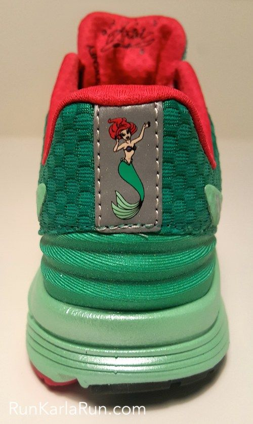 The Little Mermaid stars in the New Balance Ariel Vazee Pace runDisney shoes, clam shells & all. Make them part of your world at 2016 runDisney races.