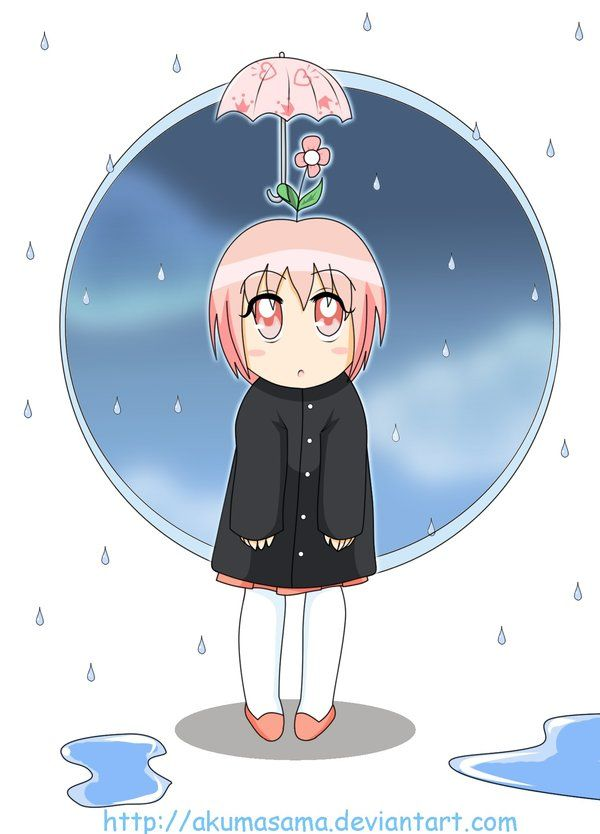 Cyu in the rain by Ashkorya