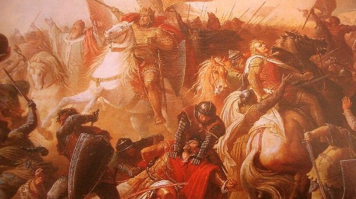 The Battle of Lechfeld (10 August 955) was a decisive victory for Otto I the Great, King of East Francia, over the Hungarian harka Bulcsú and the chieftains Lél and Súr. It is often seen as the defining event in the repulsion of the Hungarians' incursions into Western Europe.
