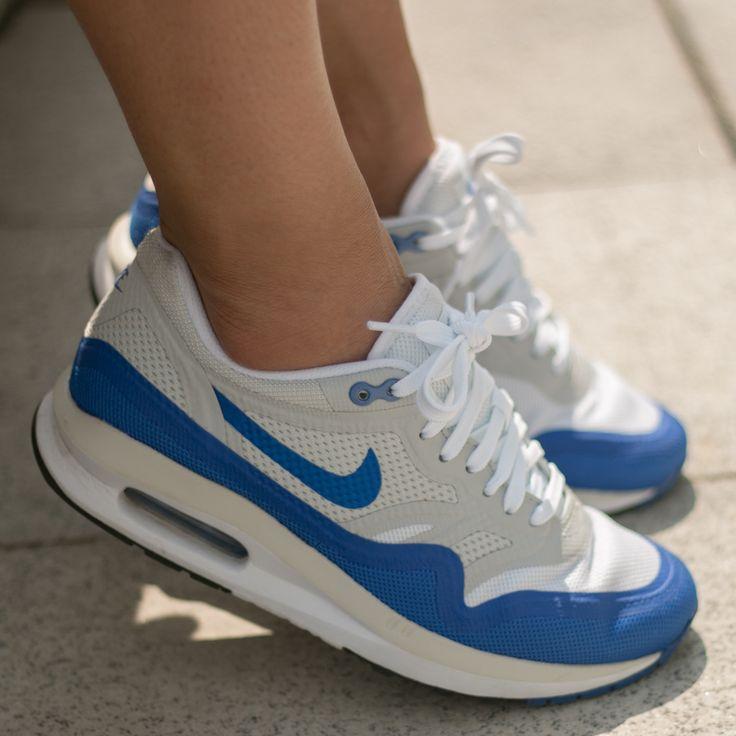womens nike air max lunar 1 blue white