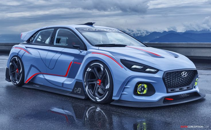 Hyundai RN30 Concept Gives Foretaste of Future High-Performance 'N' Model