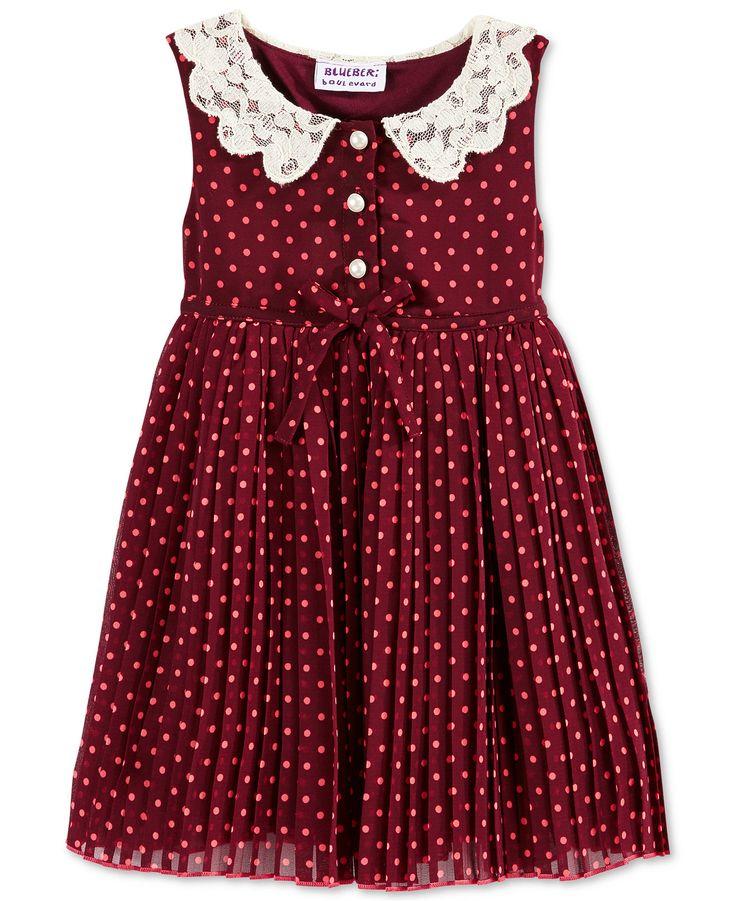 Blueberi Boulevard Baby Girl's Dot Dress - Baby Girl (0-24 months) - Kids & Baby - Macy's