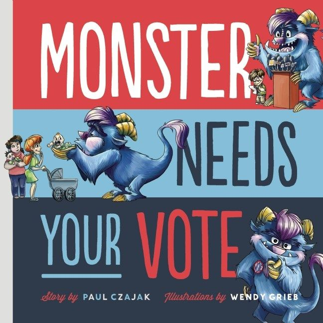 The Busy Librarian: Monster Needs Your Vote