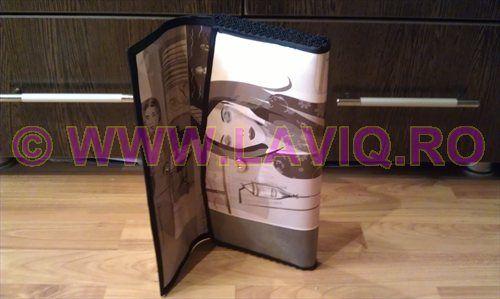 Plic Eco Schita alb - negru www.laviq.ro www.facebook.com/pages/LaviQ/206808016028814