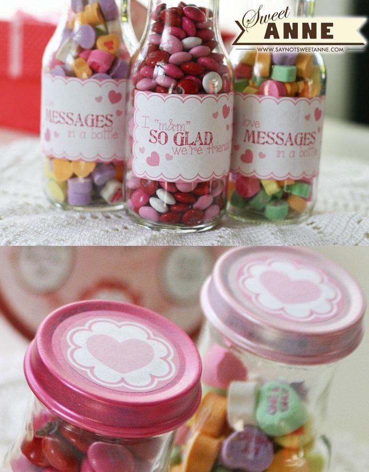 Super Cute Valentine's gift Idea. From www.saynotsweetanne.com