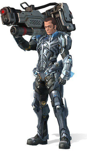 Doug - Xenoblade Chronicles X; Doug excels at all military skills, but is the most effective when it comes to piloting Dolls. is easy to make fun of despite his stern looks. Doug served under Elma in the Doll Squad back on Earth.