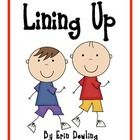 """""""Lining Up"""" Social Story...make these the first week  Great way to set expectations for walking in the hall on the first day."""
