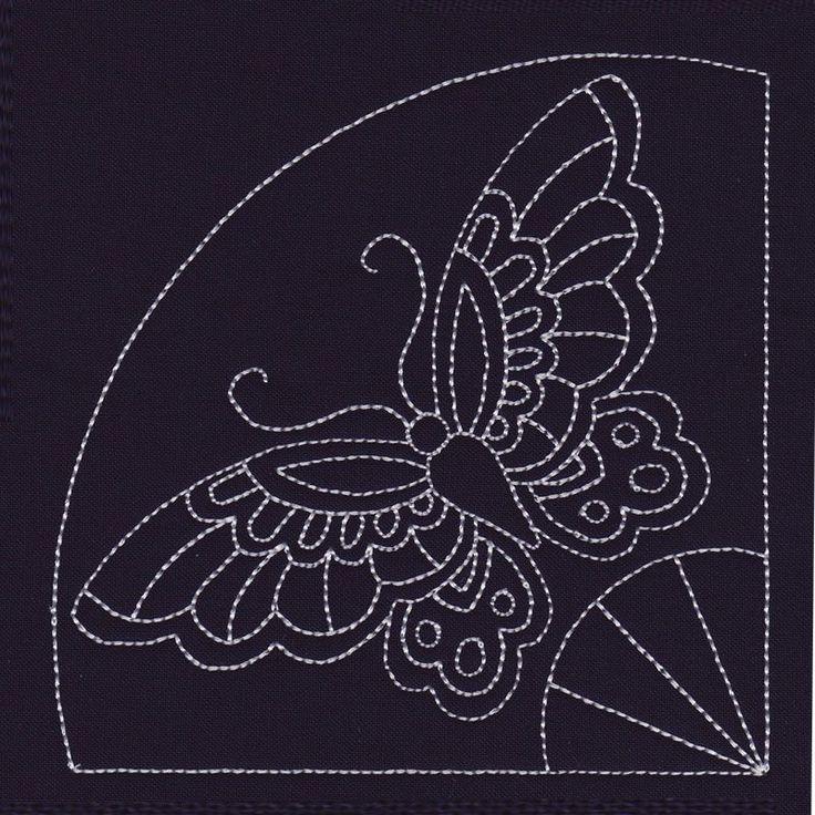 Butterfly Fan Corner #NB349_48