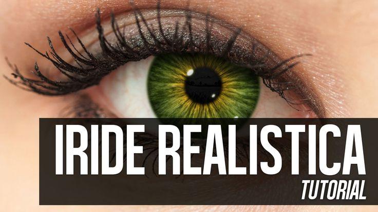 Photoshop tutorial: Come realizzare l'iride dell'occhio umano