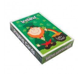 Luck of the Irish Leprechaun Playing Cards