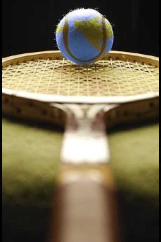 Tennis is my world what is yours