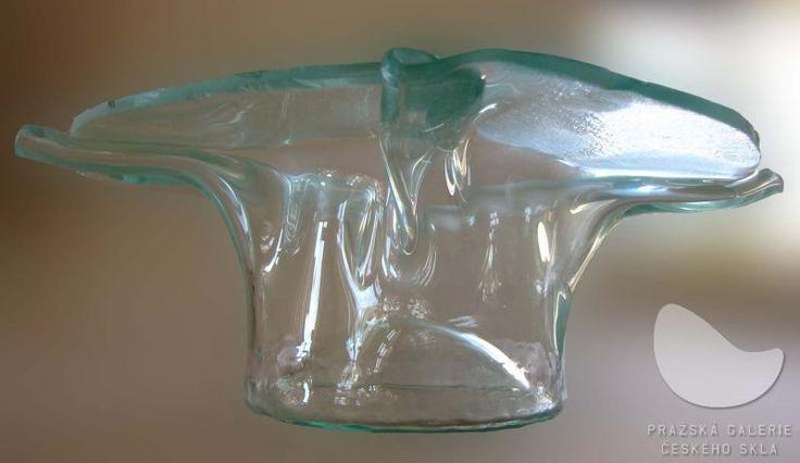 Klobouk, mísa, lehané sklo, r. 2008