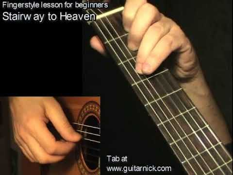Stairway To Heaven - Led Zeppelin, guitar lesson & TAB! Learn to play - http://mykyani.biz/stairway-to-heaven-led-zeppelin-guitar-lesson-tab-learn-to-play/